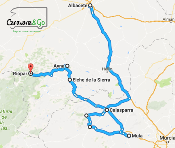 Ruta en Autocaravana Sierra del Segura