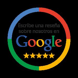 Escribir reseña Google
